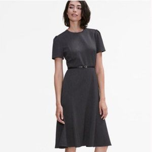 MM Lafleur Inez Dress in Charcoal  A7-1